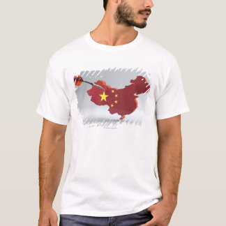 Digital Composite of China T-Shirt