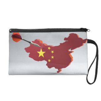 Digital Composite of China Wristlet