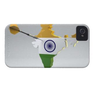 Digital Composite of India iPhone 4 Case-Mate Cases