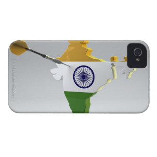 Digital Composite of India iPhone 4 Cover