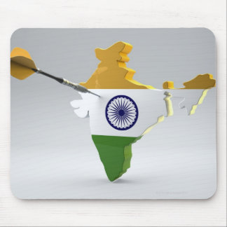 Digital Composite of India Mouse Mat
