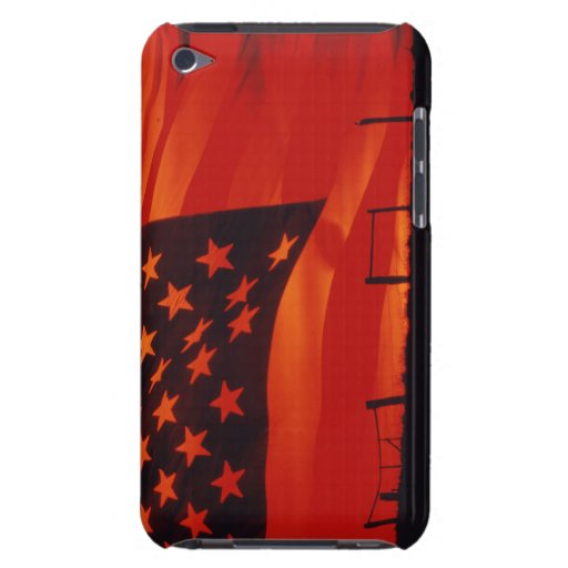 Digital composite of the American Flag iPod Touch Case-Mate Case