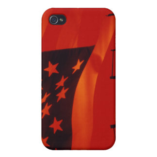 Digital composite of the American Flag Cases For iPhone 4