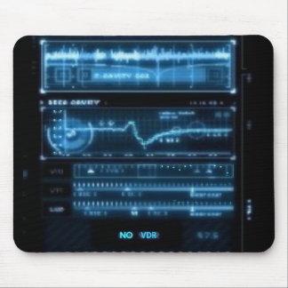 Digital Console (BLUE) Mouse Pad