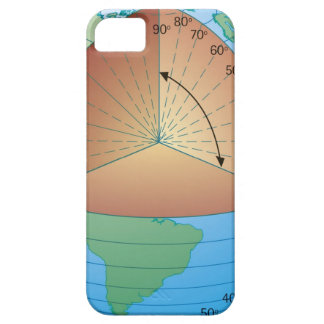 Digital cross section illustration of showing iPhone 5 cover