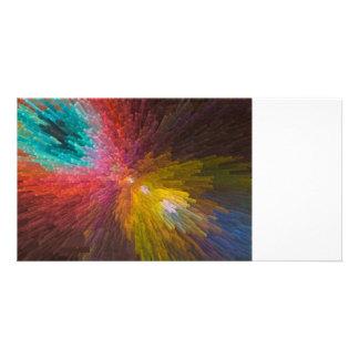 Digital Crystal Art Photo Card Template