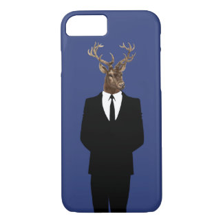 Digital deer collage for iPhone 7 iPhone 7 Case