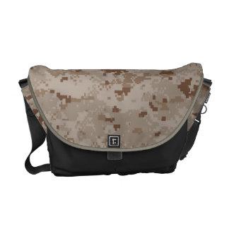 Digital Desert Camouflage Messenger Bags