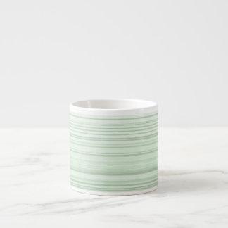 Digital Design in Pale Green Espresso  Mug