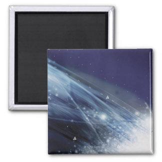 Digital Design Square Magnet