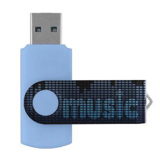 Digital Equalizer Music Wave Wall USB Flash Drive