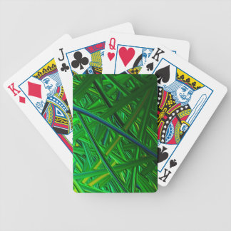 Digital Finger Painting Bicycle Poker Cards