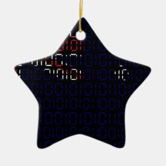 digital Flag (Australia) Christmas Ornament