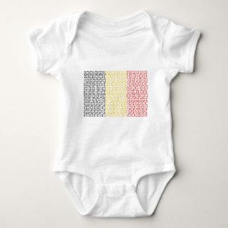 digital Flag (Belgium) Baby Bodysuit