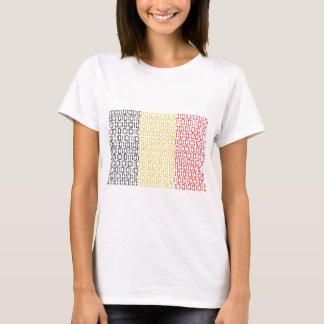 digital Flag (Belgium) T-Shirt