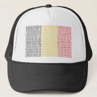 digital Flag (Belgium) Trucker Hat