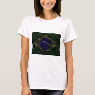 digital Flag (Brazil) T-Shirt