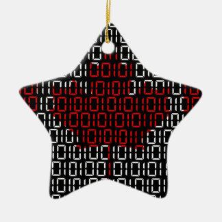 digital Flag (Canada) Christmas Ornament