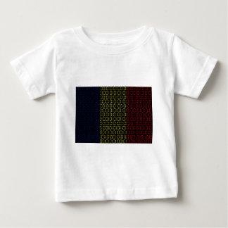 digital Flag (Chad) Baby T-Shirt