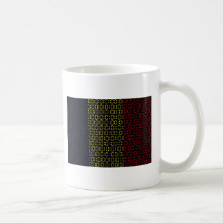 digital Flag (Chad) Coffee Mug