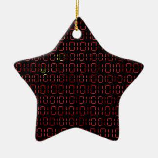 digital Flag (China) Christmas Ornament