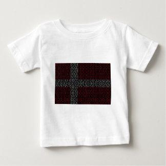 digital Flag (denmark) Baby T-Shirt
