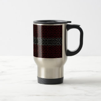 digital Flag (denmark) Travel Mug