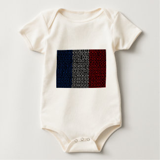digital Flag france Baby Bodysuit
