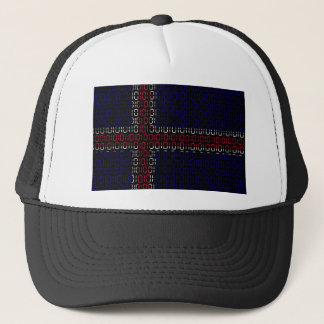 digital Flag iceland Trucker Hat