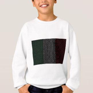 digital Flag  italy Sweatshirt