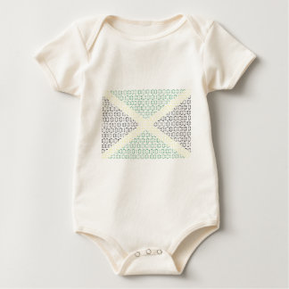 digital Flag (Jamaica) Baby Bodysuit