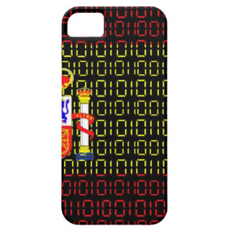 digital Flag (spain) iPhone 5 Case