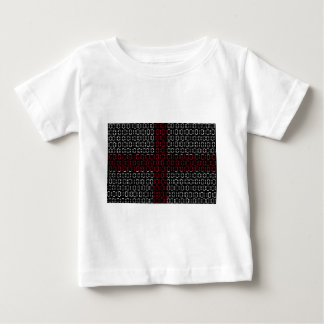 digital Flag (St George's Cross) Baby T-Shirt