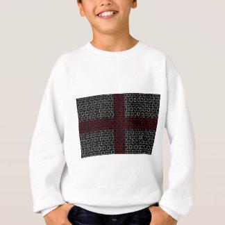 digital Flag (St George's Cross) Sweatshirt