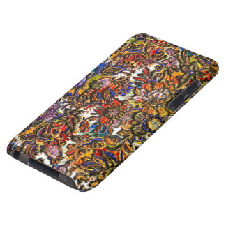 Digital Floral Pattern Art Barely There iPod Case