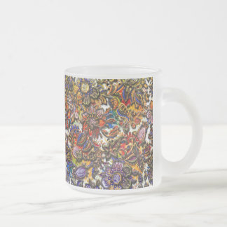 Digital Floral Pattern Art Mugs