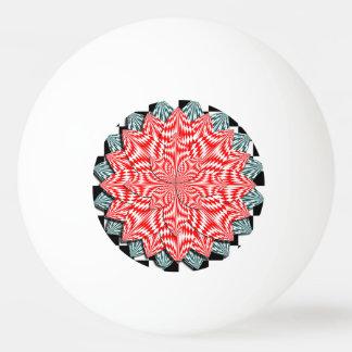 Digital Flower Ping-Pong Ball
