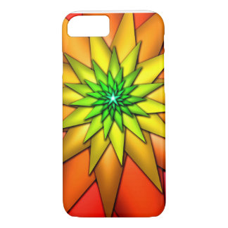 Digital flower iPhone cover