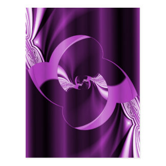Digital Flower purple created by Tutti Postcard