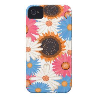 Digital Flowers Blackberry Bold Case