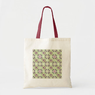 Digital Flowers Colorful Blossoms Art Spring Canvas Bags