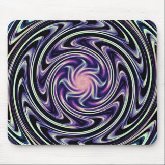 Digital Galactic Swirl Mousepads