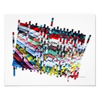 Digital Glitch Photo Print