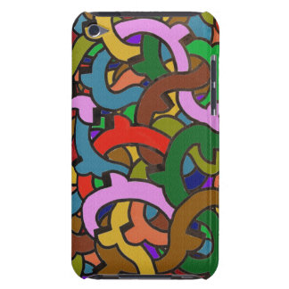 Digital Graffiti of Colorful Pipes Urban Style iPod Touch Cases