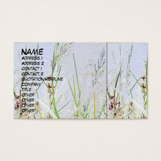Digital Grasses Profile Card