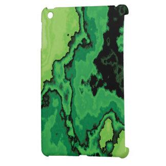 Digital Green Stone Print Mini iPad #1 Case For The iPad Mini