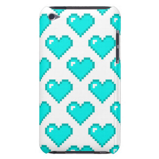 Digital Heart Pattern Turquoise Case-Mate iPod Touch Case