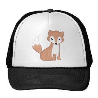 Digital Illustration Of A Cute Fox Cap