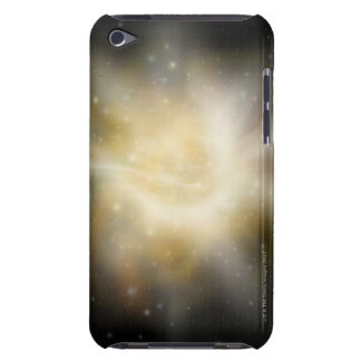 Digital Illustration of a Solar System Case-Mate iPod Touch Case