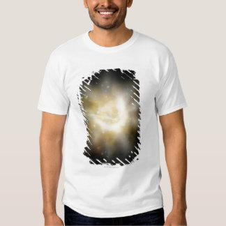 Digital Illustration of a Solar System T Shirts